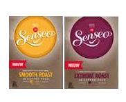 72 Senseo coffeepods Extreme Roast and Smooth Roast  (2x36)