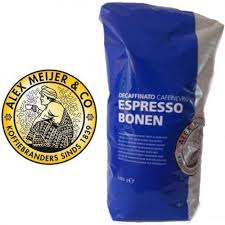 NEW!! Alex Meijer coffeebeans, decafe 1000 gr.