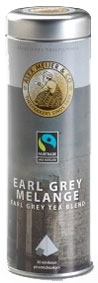 NEW!! Alex Meijer thee, earl grey tea, a can with 20 Pyramid bags, Fairtrade