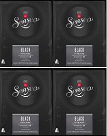 Senseo Black Intense 4 x 28  pods