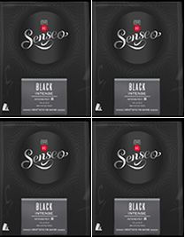 NEW: Senseo Black Intense 4 x 28  pods