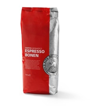 NEW!! Alex Meijer coffeebeans, Santos, medium 1000 gr.