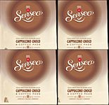 "32 packages Senseo ""Cappuccino Choco "" (4x8 coffeepods)"