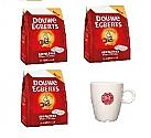 NEW!! 108 coffeepods D.E. and a latte Mug with D.E. logo