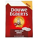 D.E. Coffeepods 4x36 pods,DONKER