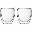 Set from 2 espresso glasses, 10 cl