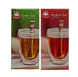 Royal T-sticks testpackage 2x30 sticks Greentea and Rooibos tea