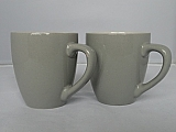 2 dark grey Coffeecups (165ml)