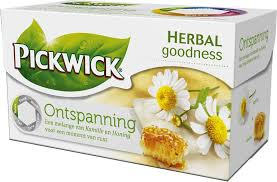 Pickwick Ontspanning,Camomile with honey  flavour (20x1,5g)