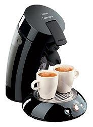 Philips Coffeemachine Senseo HD7817  Black