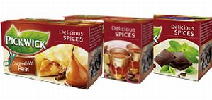 NEW!! Pickwick Testpackage Delicious Spices (3 Packages)
