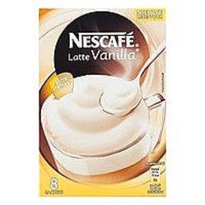 Nescafé Latte Vanilla (8 sachets)