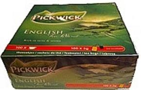 English Teablend von PickWick 100 bags x 2 gr (no envelope)
