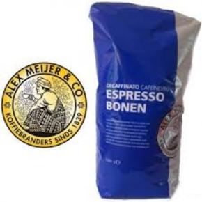 Alex Meijer coffeebeans, decafe 1000 gr.