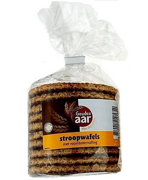 Gouden Aar Syrup Waffels, 12 Pieces