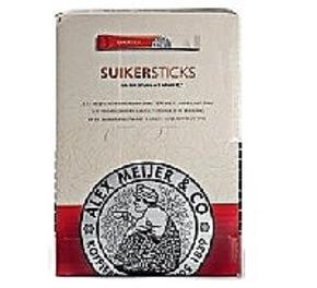 Alex Meijer Dispenderbox Sugar sticks 600 x 5 gr.