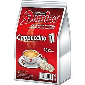 18 Domino coffeepads, Cappuccino